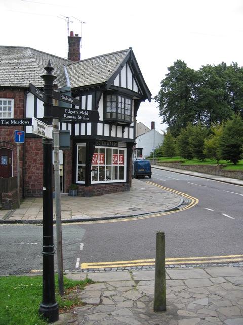 Handbridge Shop and Signpost