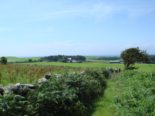 Green lane near Blairbuy