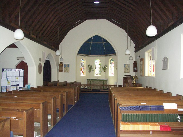 Interior of All Saints Parish Church