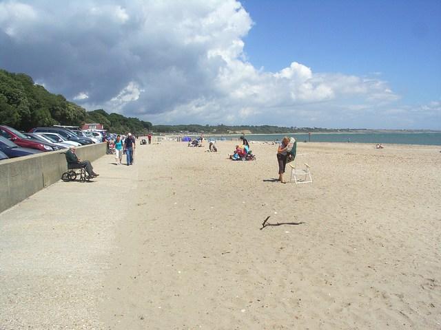 Beach at Mudeford