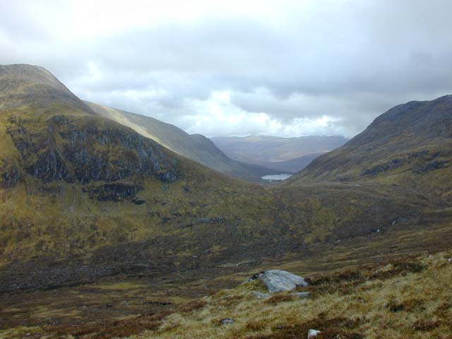 View south east from Sron na Frianich