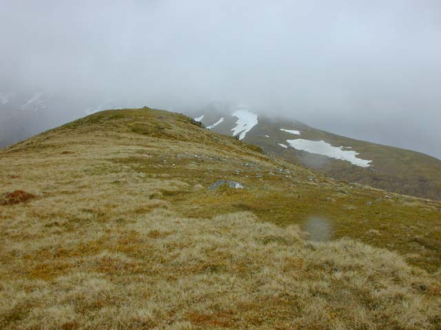 The top of Sron na Frianich