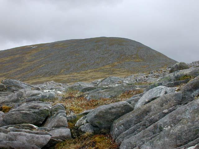 The west ridge of Carn nam Fiaclan
