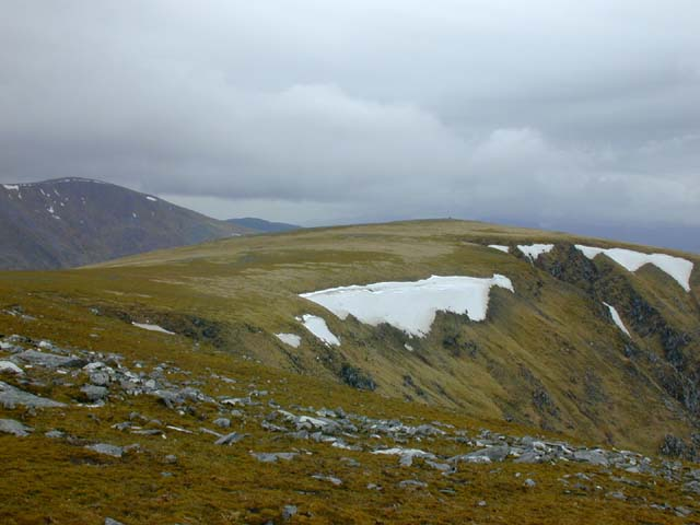 The summit of Maoile Lunndaidh