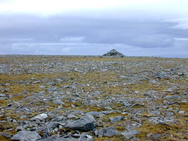 The summit cairn of Maoile Lunndaidh