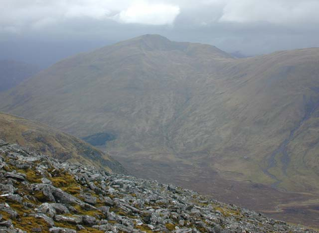 Northern slopes of Maoile Lunndaidh