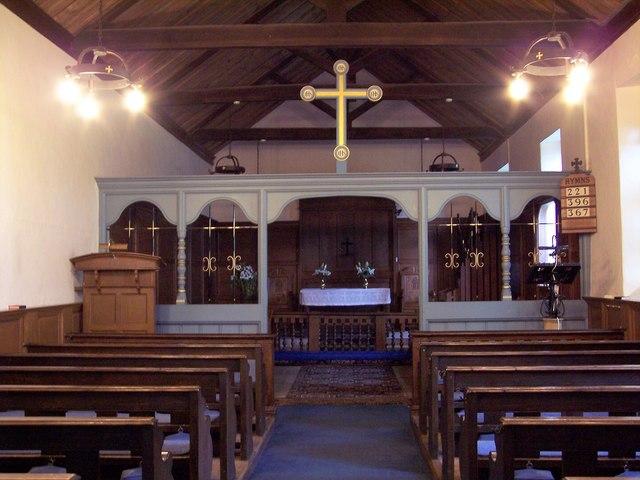 St Aidan's Church, Gillamoor - Interior