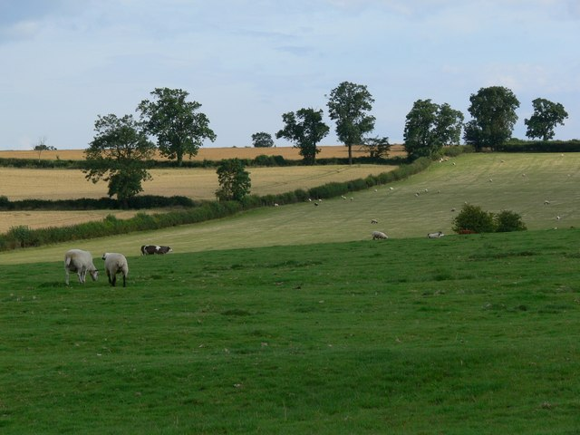 Farmland off Croxton Road