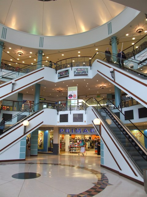 Waterside Shopping Centre, Lincoln. The shop Primark was once occupied by