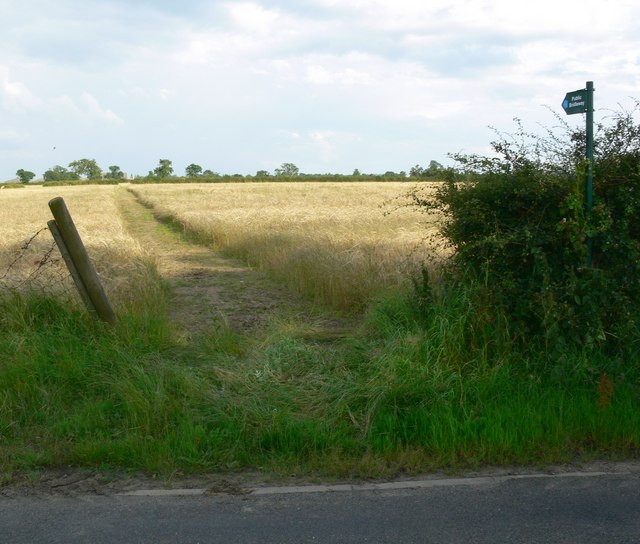 Public Footpath to Waterloo Lodge Farm