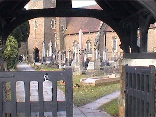 Gate entrance to church