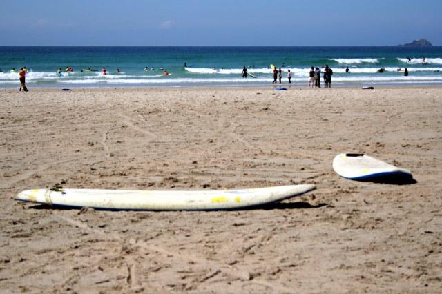 Low Tide on Sennen Beach