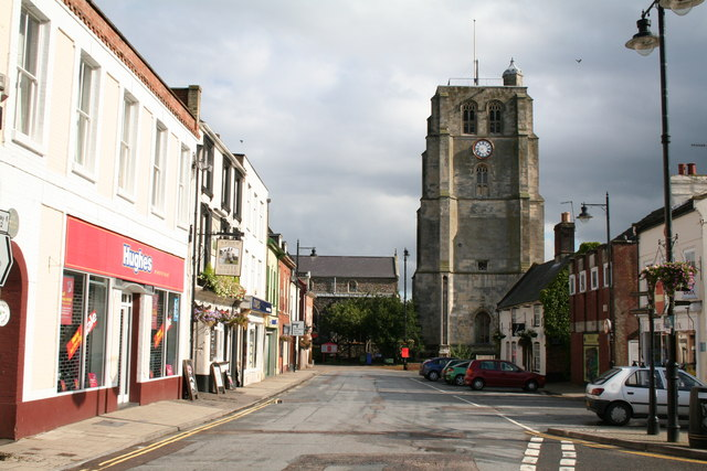 St. Michael's Church, Beccles, Suffolk: south face