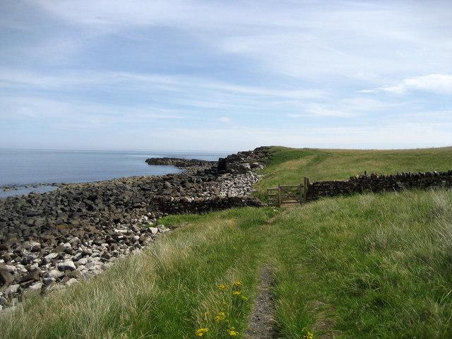 Coastal Path above Football Hole