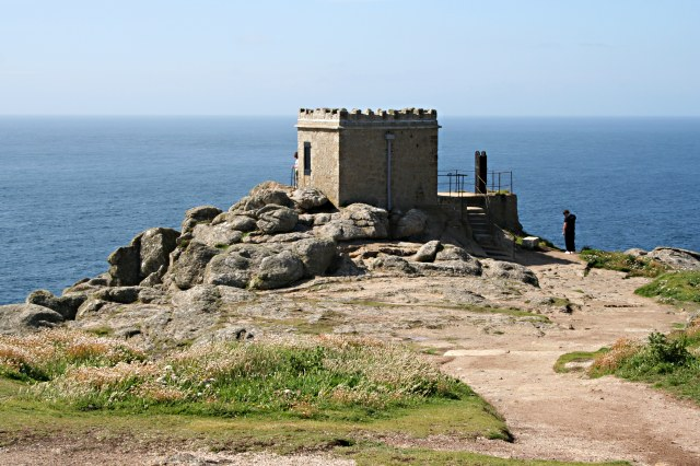 The Old Lookout Station on Sennen Cliff