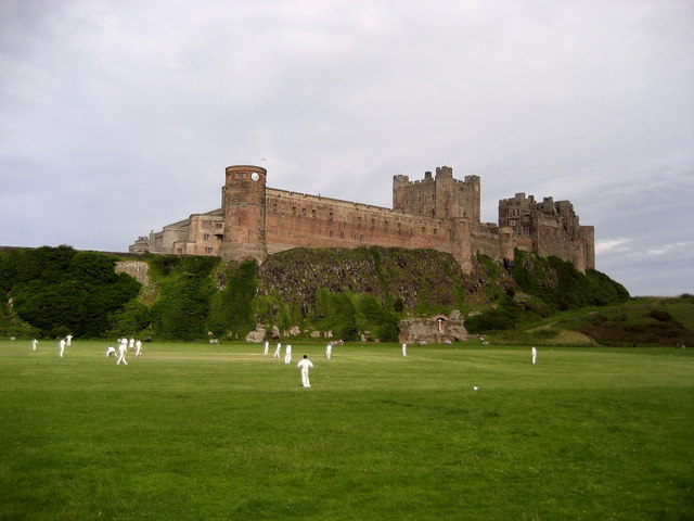Cricket Match, Bamburgh