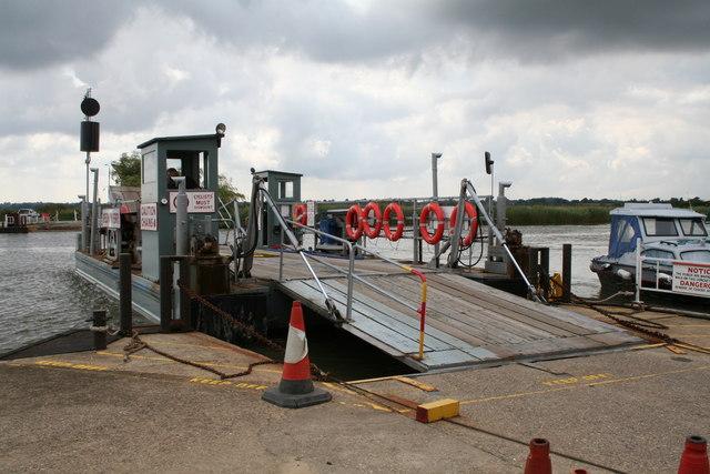 Reedham Chain Ferry, Norfolk
