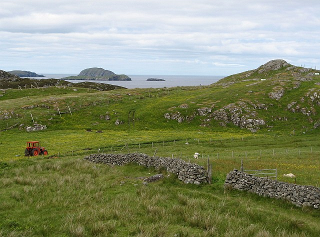 Crofts near Carloway Broch
