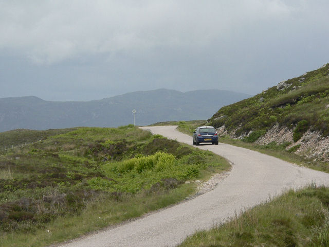 Road on west side of Loch Eriboll