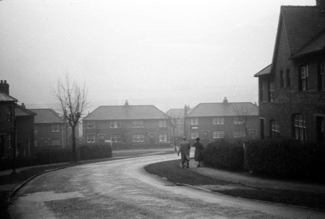 Council houses in Alverthorpe, 1959