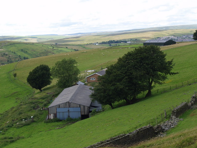 Farm on Manmoel Common