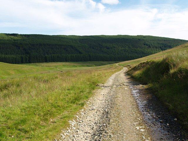 Track to Glenhead Farm
