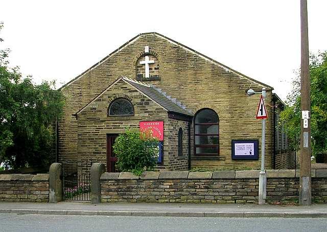 Slackside Wesleyan Reform Chapel - Beacon Road