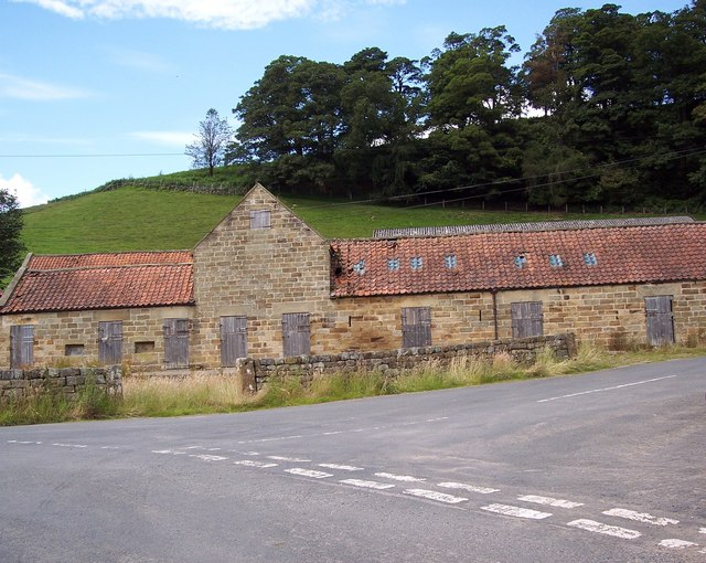 Unused stables at Church Houses