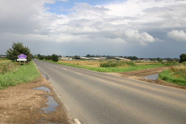 A141 approaches Chatteris