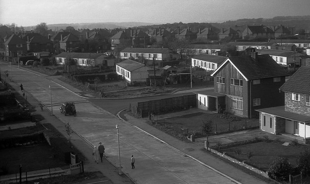Holtspur, Mayflower Way, 1962