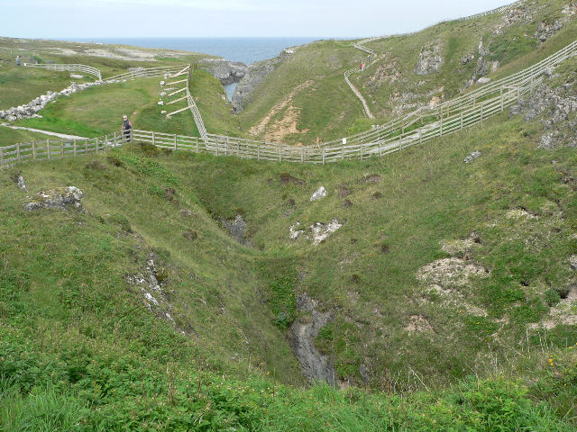 Footpaths above Smoo Cave