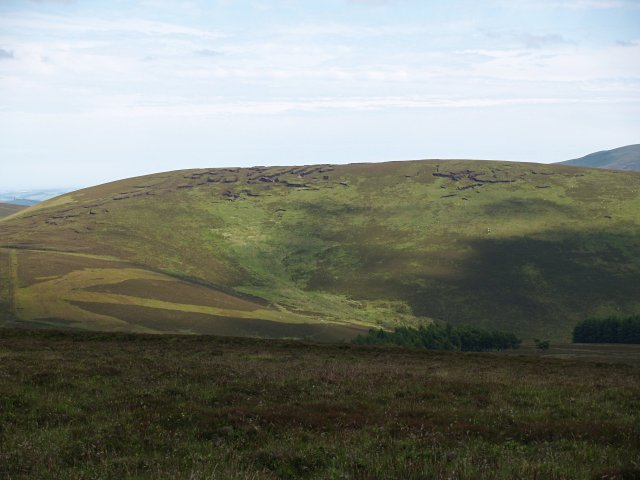 Corwarn Hill from Eskielawn