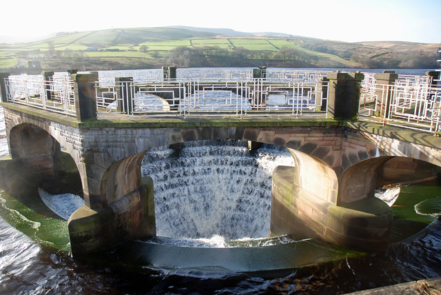 Digley Reservoir Overflow