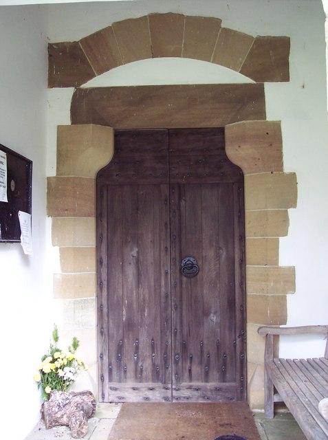 St Mary's Church, Farndale - Door