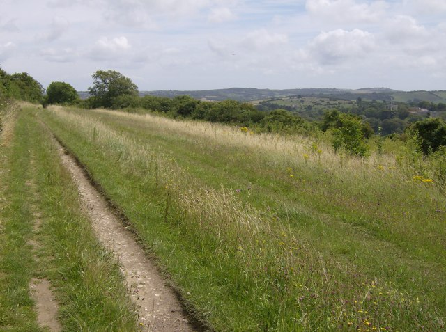 Tennyson Trail above Carisbrooke