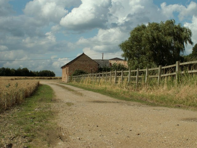 Part of Church Farm, by Chettisham church
