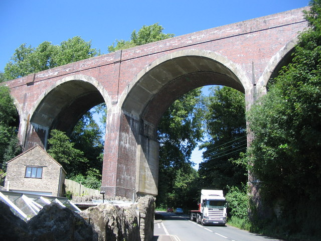 Viaduct at Shepton Mallet