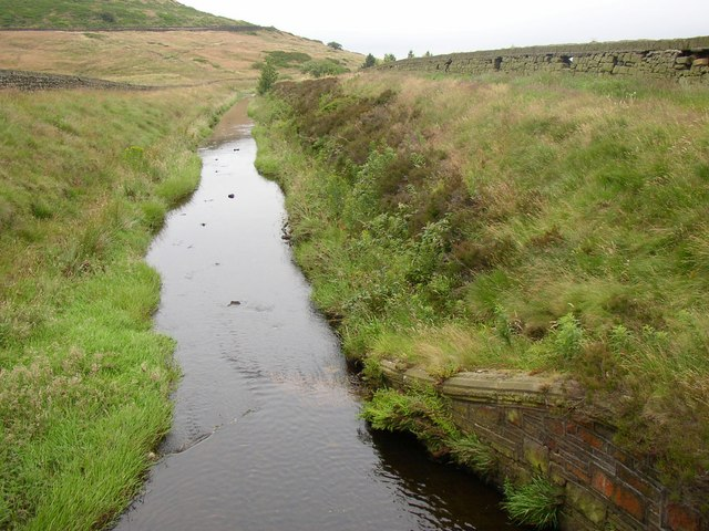 Catchwater drain, Meltham