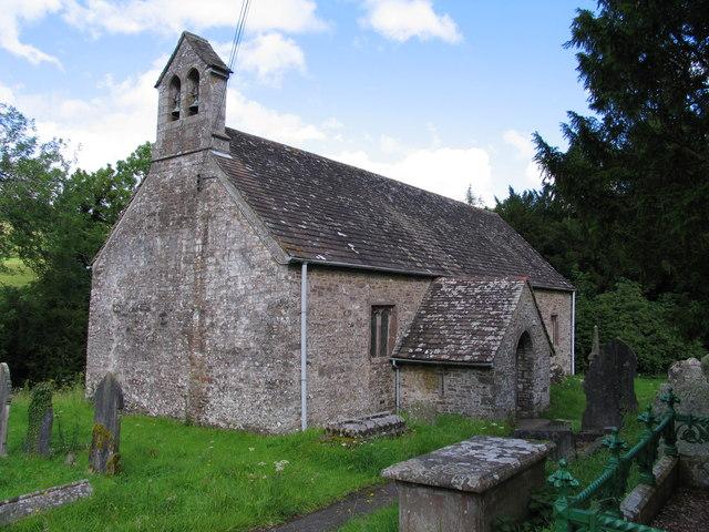 Llanddetty Church