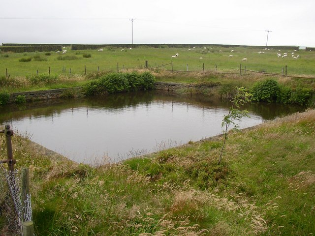 Reservoir at Black Hill, Meltham