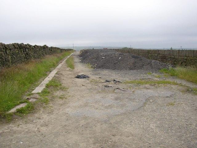The former Slaithwaite Road, Meltham
