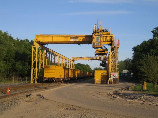 Waste transfer station, Calvert Landfill Site, Calvert