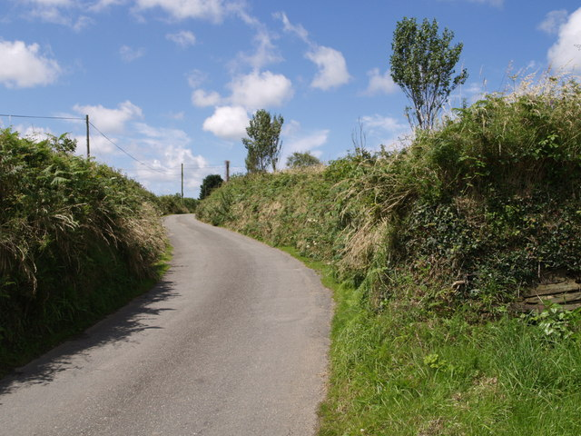Lane to West Curry