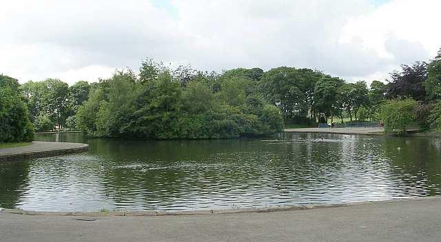 Wibsey Park Lake - Beacon Road