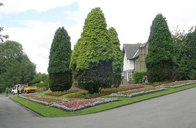 Flower Beds - Wibsey Park - Beacon Road