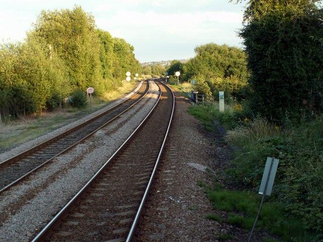 Darton to Barnsley Line