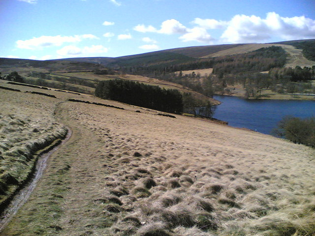 Southern section of Goyt Valley and Errwood Reservoir