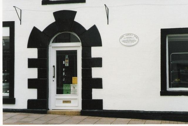 Headquarters of Prince Charles Edward Stuart at Brampton