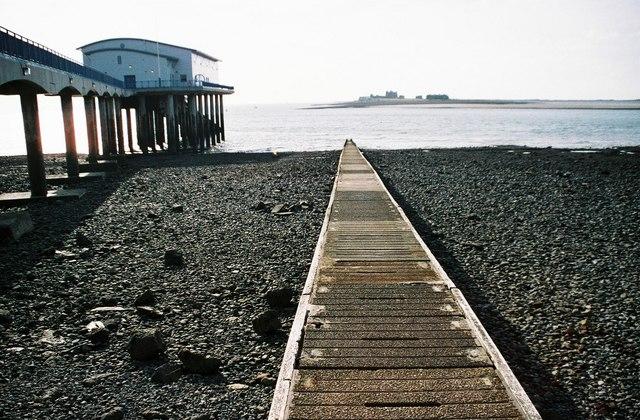 Roa Island slipway