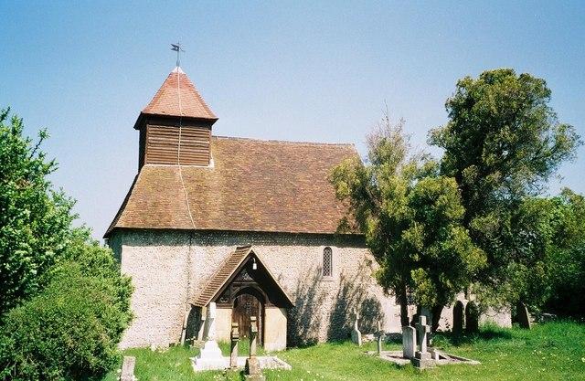 Chilcomb: parish church of St. Andrew
